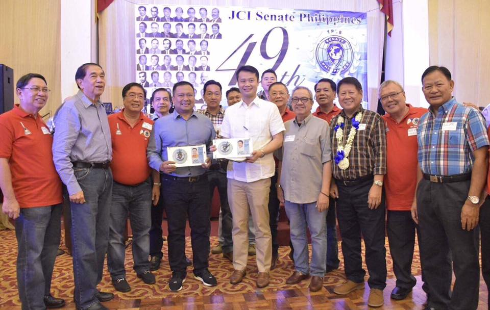 Sen. JV Ejercito Attends the 49th Anniversary Celebration of JCI Senate Philippines last night hosted by JCI Senate Rizal Chapter.