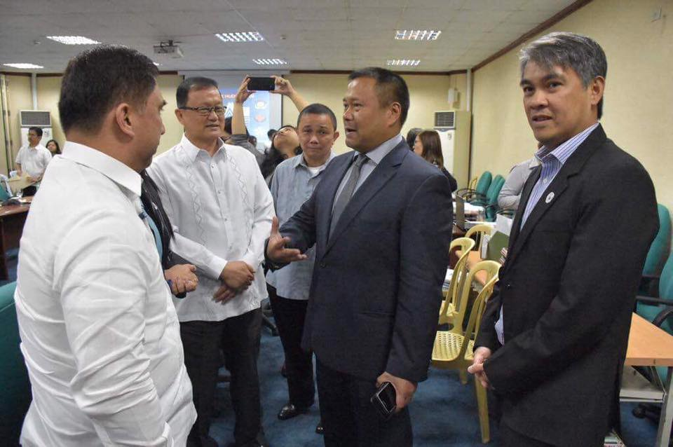 Sen. JV Presided Over the Proposed Budget f Key Shelter Agencies