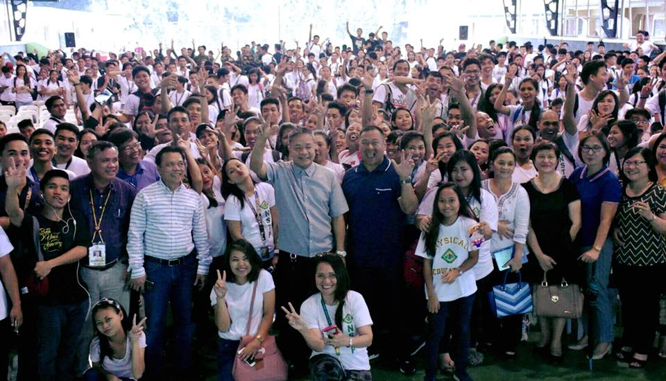 SEN. JV GOES TO CAVITE STATE UNIVERSITY FOR YOUTH ECONOMIC FORUM