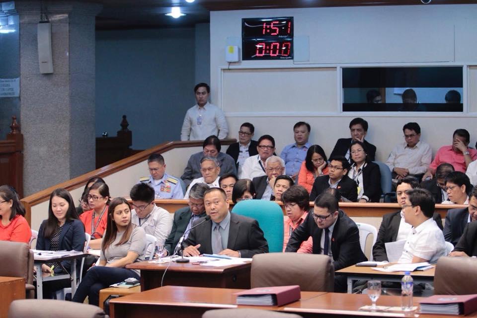 Sen. JV Ejercito Senate Activities – 09 October 2017