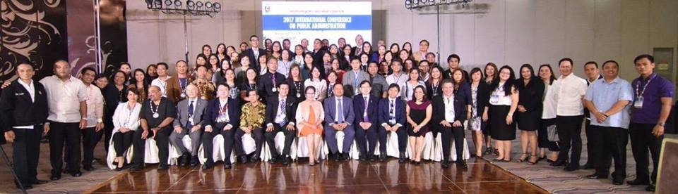 Sen. JV attended the 2017 International Conference on Public Administration hosted by the City Government of San Juan.