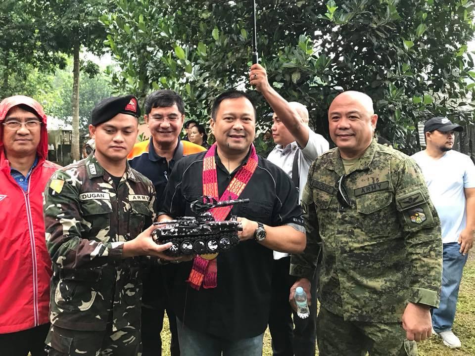 Senator JV Goes to Marawi City