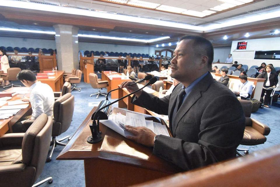 Senator JV During the Senate Deliberations on the TRAIN (Tax Reform for Acceleration and Inclusion).