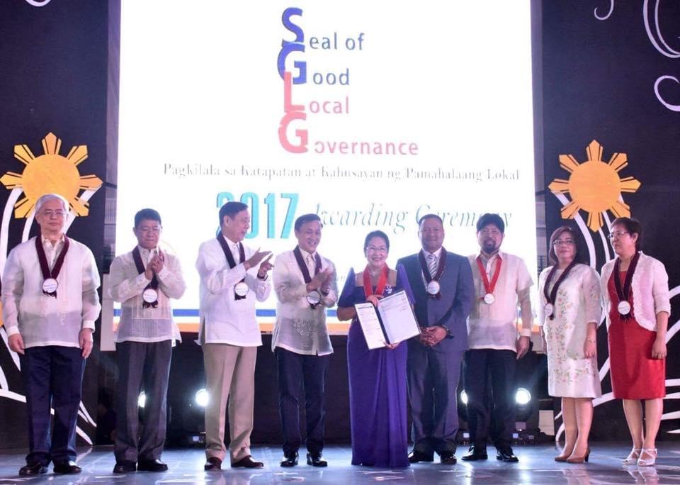 SAN JUAN CITY AWARDED WITH 2017 SEAL OF GOOD LOCAL GOVERNANCE