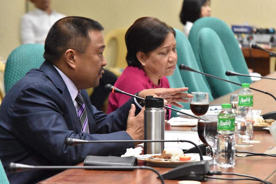 Hearing on the Bangsamoro Basic Law and Agriculture and Food Committee.