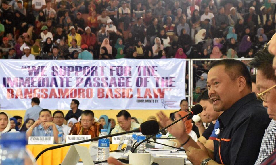 We talked peace and progress! Earlier today during the public hearing on the Bangsamaro Basic Law