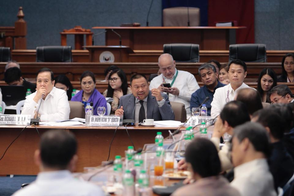 Joint hearing of the Blue Ribbon and Health Committee on the controversy surrounding the Dengvaxia vaccine.