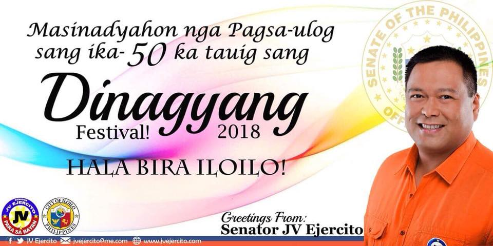 A hot congratulations to our country days in celebration of Dinagyang Festival 2018! Oh, go!