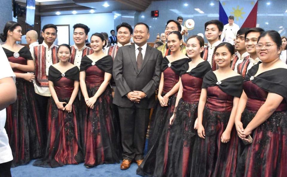 Sen. JV Ejercito Senate Activities – 26 February 2018.