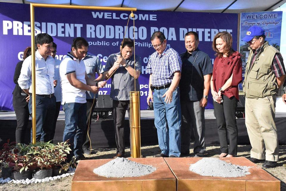 AFP/PNP HOUSING GROUNDBREAKING CEREMONY