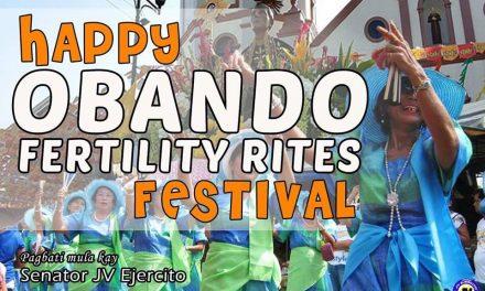 Happy Obando Fertility Rites Festival, Obandeños! 🎉