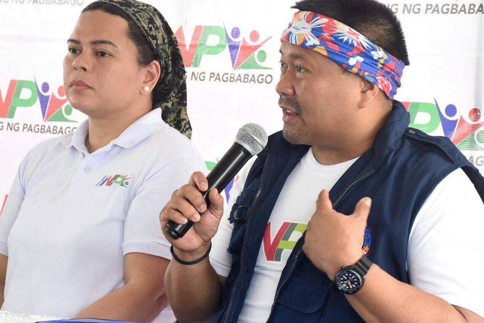 HUGPONG NG PAGBABAGO MASS OATHTAKING