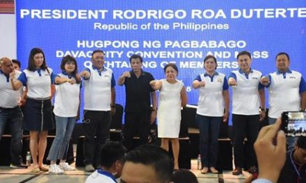 HUGPONG NG PAGBABAGO DAVAO CITY OATHTAKING
