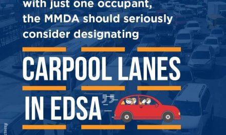 Senator JV On Carpool Lanes in EDSA