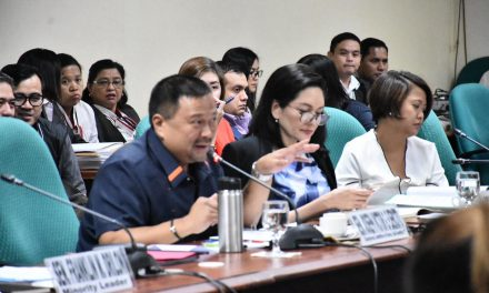 Sen. JV Ejercito Senate Activities – 17 September 2018
