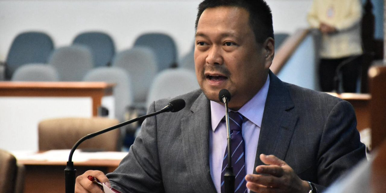 JV Ejercito says he will buck DBM proposal to cut health funds