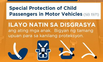 Special Protection of Child Passengers in Motor Vehicles