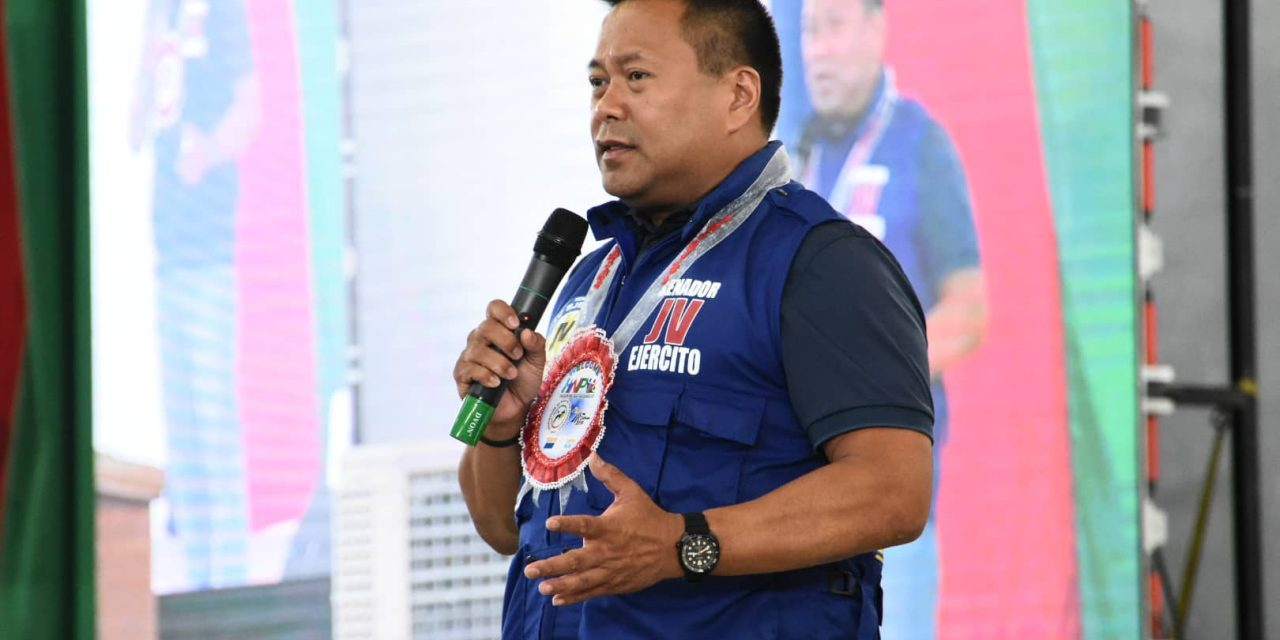 Sen. Ejercito vows to push for the creation of disaster management department
